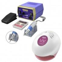 Cabina UV + Torno Profesional