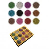 Caja de 12 unidades de Caviar Decoración Uñas