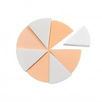 Pack 8 Esponjas Triangulares Cisne