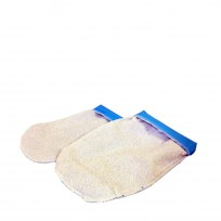 Manopla  Toalla + Polie.Para Tratamientos de Parafina